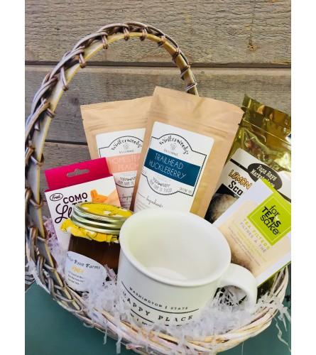 Tea Themed Gift Basket