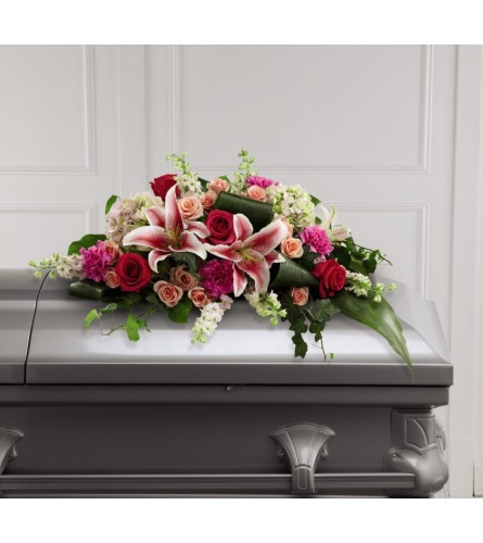 Splendid Grace™ Casket Spray