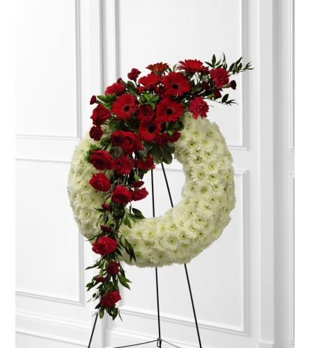 A Graceful Tribute Wreath