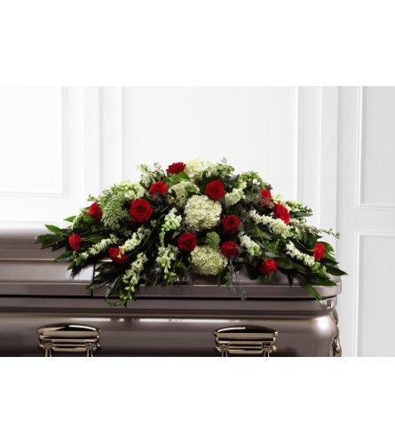 A Sincerity Casket Spray