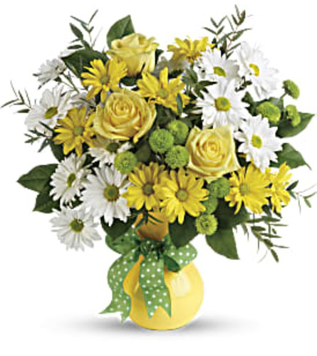The Daisies And Dots Bouquet