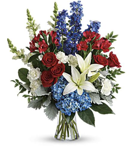 A Colorful Tribute Bouquet