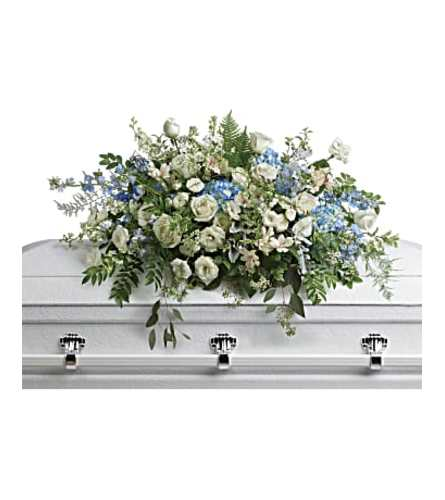 The Tender Remembrance Casket Spray