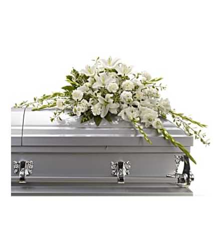 The Bountiful Memories Casket Spray