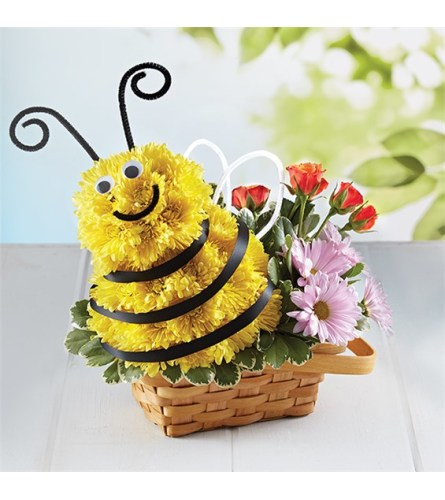 Birthday Honey Bee Happy