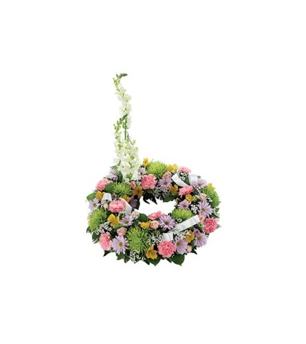Sympathy Cremation/Memorial Floral Wreath