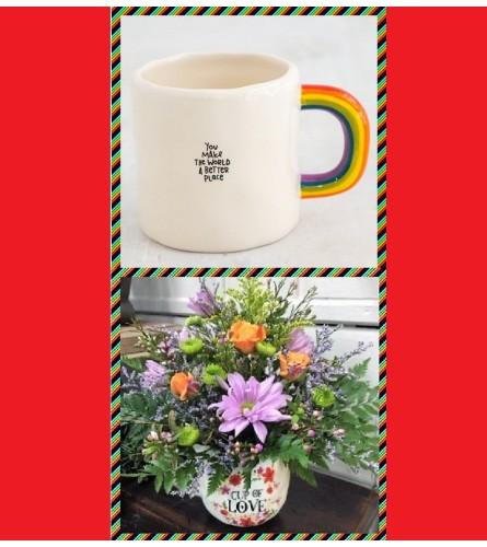 Rainbow Mug-World Better