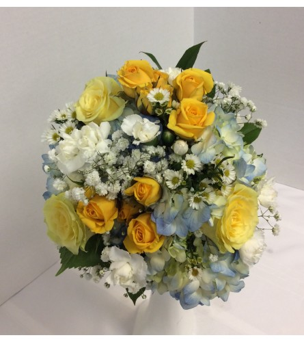 Prom BVP31 - Sunny Day Bouquet (pick up only)