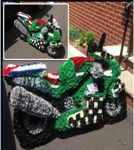 Floral Motorcycle