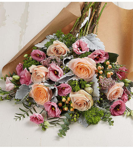 Enchanting Wrapped Bouquet