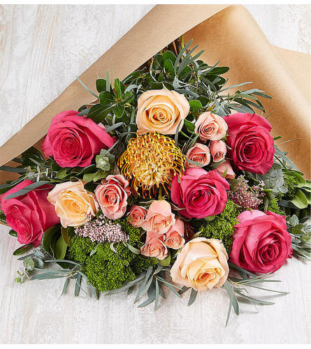 The Charming Bouquet Wrapped