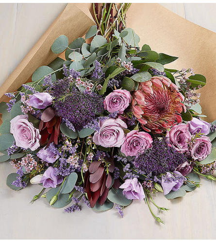 The Fascinating Wrapped Bouquet