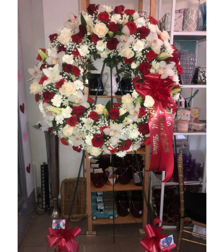 Passionate Faith Wreath