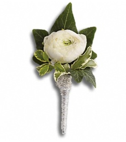 Blissful Boutonniere
