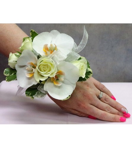 Orchid & Rose Corsage