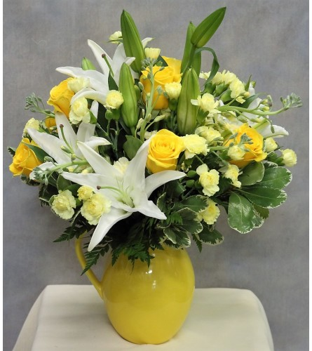 Pitcher of Sunshine Bouquet