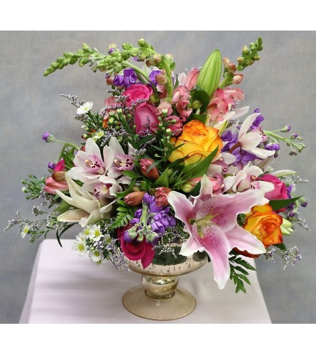 Rainbow Chic Centerpiece