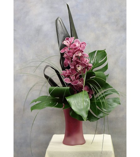 Regal Cymbidium Orchid Bouquet