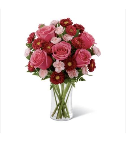 Shades of Pink Roses