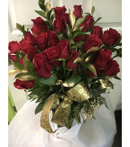 Red Roses for the Lady