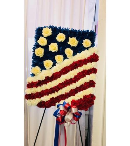 American Flag Tribute
