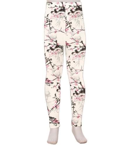 Kids Cherry Blossom Leggings