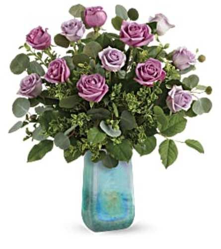 Watercolored Roses