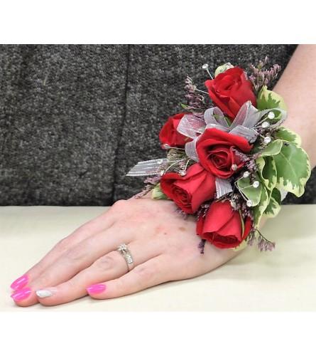 Regal Rose Corsage/Boutonniere