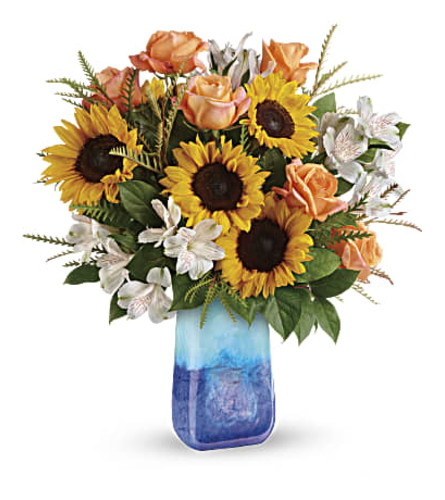 A Sunflower Beauty Bouquet