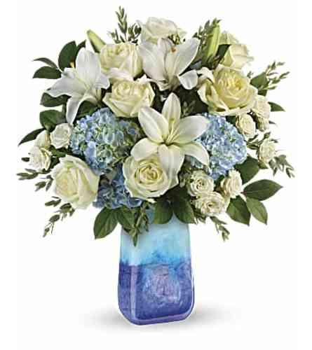 An Ocean Sparkle Bouquet