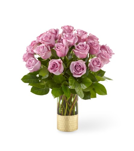 The Hello Beautiful Lavender Rose Bouquet by FTD