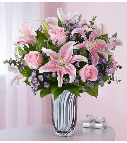 Silver Lining Pink Bouquet