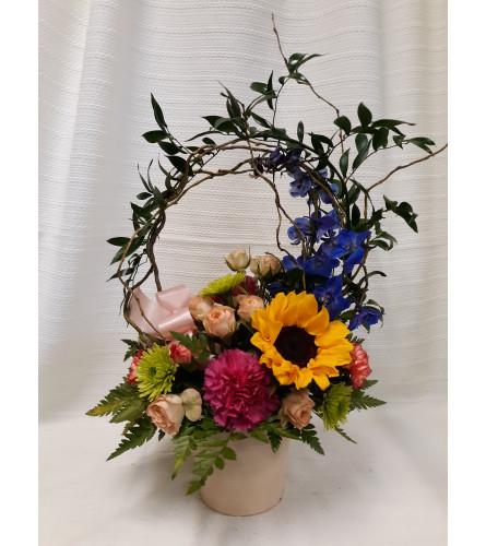 Maple City Garden Flower Pot