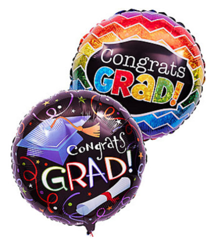 2 Graduation Mylars