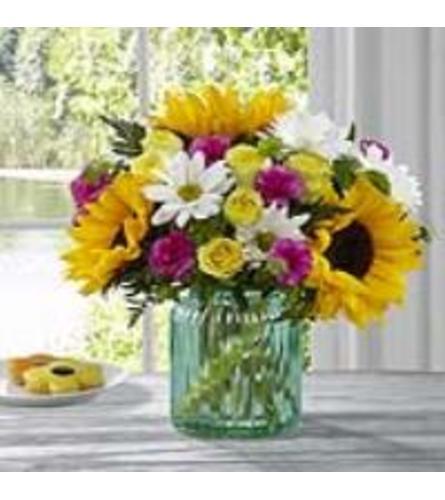 The Sunlit Meadow Bouquet