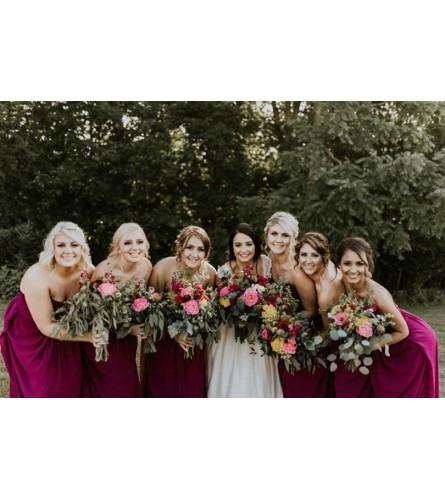 Wine Colored Wedding