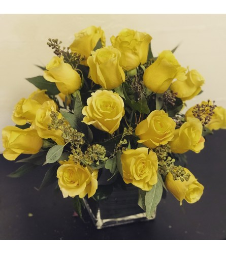 Modern Yellow  Roses