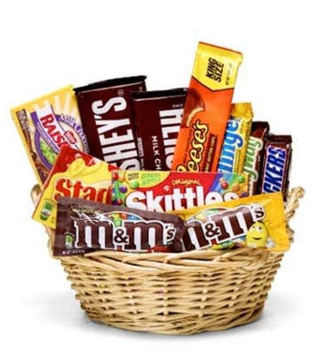 Favorite Candy Basket