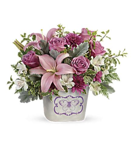 Charming Monarch Garden Bouquet