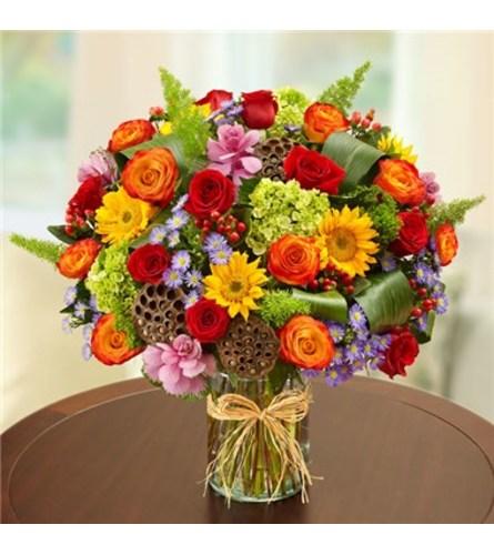 Beautiful Mixed Vase