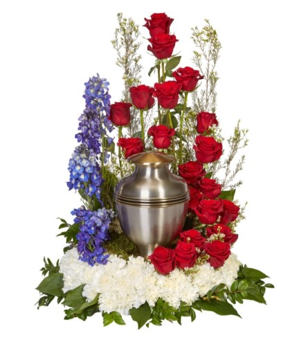 Tradition Rising Urn Arrangement