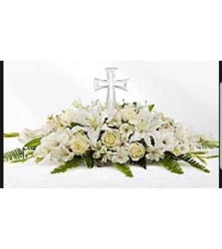 Eternal Cross Bouquet