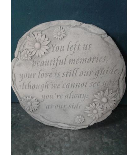 Beautiful Memories Stepping Stone
