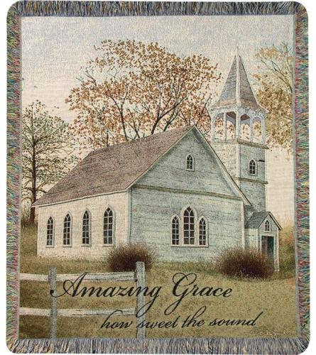 Tapestry Throw - Amazing Grace Billy Jacobs