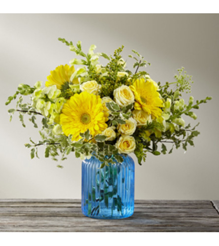 Something Blue Bouquet FTD