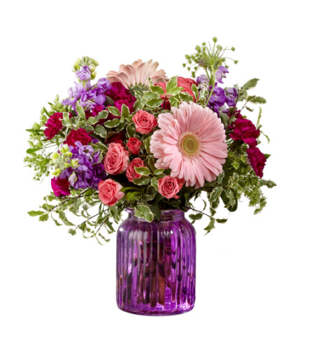 Purple Prose Bouquet FTD