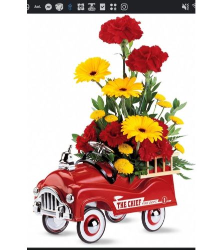 Fire Engines Bouquet