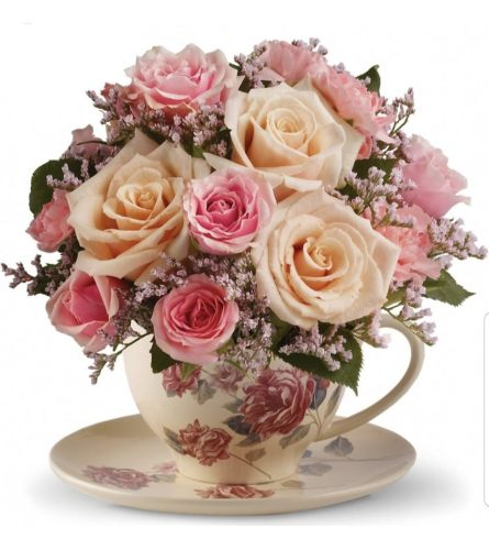 Victorian Pink Teacup