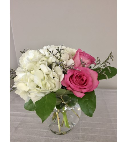 Simply Roses and Hydrangeas
