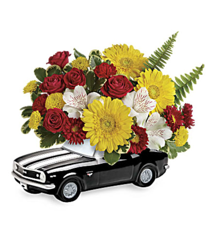 Camaro Full of Flowers